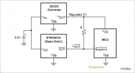 STM1061 circuits