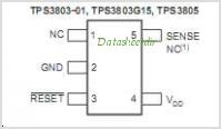 TPS3803G15 pinout,Pin out