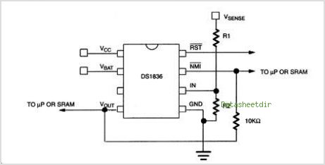 DS1836 circuits