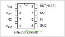 DS1836 pinout,Pin out