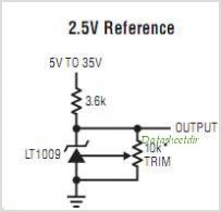 LT1009IS8-PBF circuits