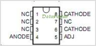 LT1009IDE4 pinout,Pin out