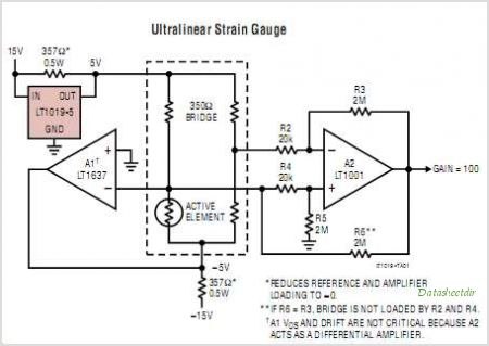 LT1019IS8-5 circuits