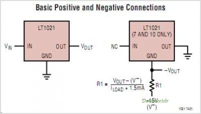 LT1021CIN8-5 circuits