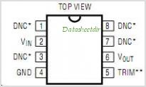 LT1021DCN8-5 pinout,Pin out