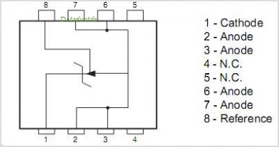 TL431 datasheet, Pinout ,application circuits Programmable Voltage