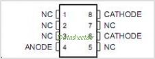 LT1004CLP-2-5 pinout,Pin out