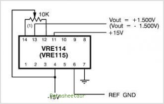 VRE114 circuits