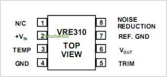 VRE310 pinout,Pin out