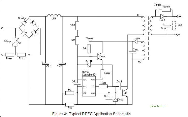 C2472 datasheet, Pinout ,application circuits Rdfc Controllers For