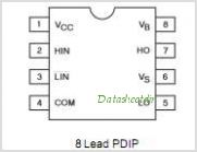 IR2101PBF pinout,Pin out