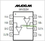 MAX5054 pinout,Pin out