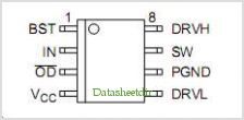 NCP3418A pinout,Pin out
