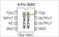 NCP4420 pinout,Pin out