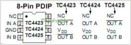 TC4423VOE713 pinout,Pin out