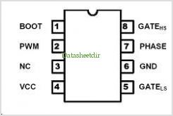 TDA21107 pinout,Pin out
