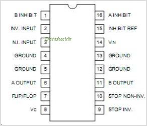 UC3706 pinout,Pin out