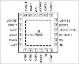 APW7098 pinout,Pin out