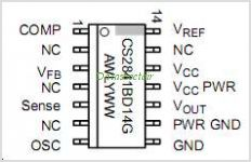CS2841 pinout,Pin out