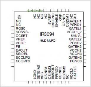 IR3094M pinout,Pin out