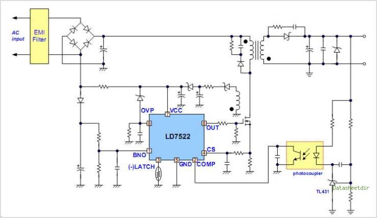 LD7522PS circuits