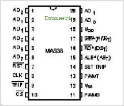 MA838 pinout,Pin out