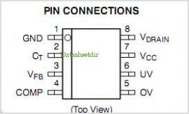 NCP1030 pinout,Pin out