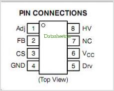 NCP1217 pinout,Pin out
