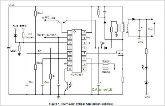 NCP1239 circuits
