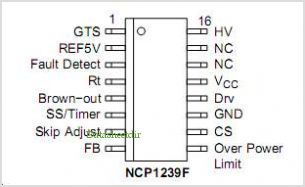 NCP1239 pinout,Pin out