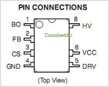NCP1338 pinout,Pin out