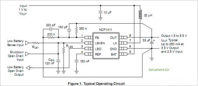 NCP1411 circuits