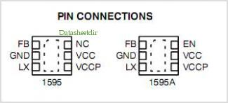 NCP1595 pinout,Pin out