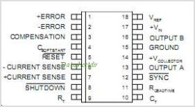 SG1526J pinout,Pin out