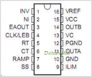 UC3823A pinout,Pin out
