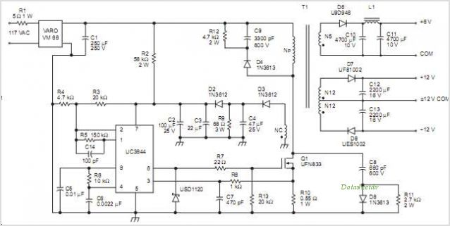 UC3845AM circuits