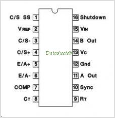 UC3846M pinout,Pin out