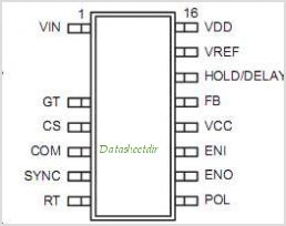HV9901 pinout,Pin out