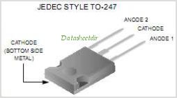 ISL9K3060G3 pinout,Pin out