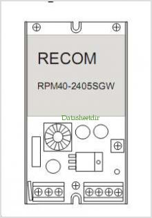 RPM30-1230SDE pinout,Pin out