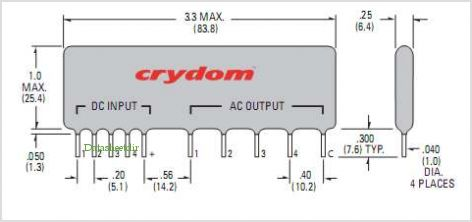 CTX240D3Q pinout,Pin out