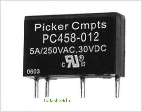PC458 pinout,Pin out