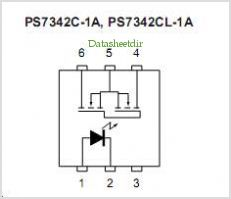 PS7342C-1A pinout,Pin out