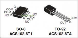ACS102-6T pinout,Pin out