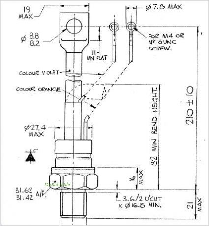 P0311SD12F pinout,Pin out