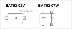 BAT63-02V pinout,Pin out