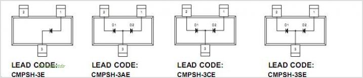CMPSH-3E pinout,Pin out