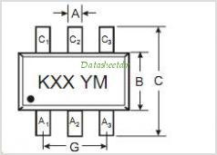 BZX84C5V6TS pinout,Pin out