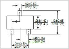 BZX84C2V4 pinout,Pin out