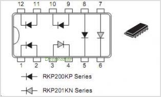 RKP410KS pinout,Pin out